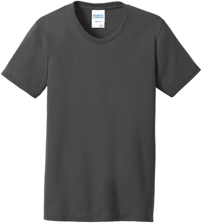 Charcoal Ladies 50/50 T-Shirt