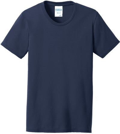 Navy Ladies 50/50 T-Shirt