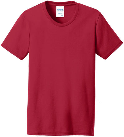 Red Ladies 50/50 T-Shirt