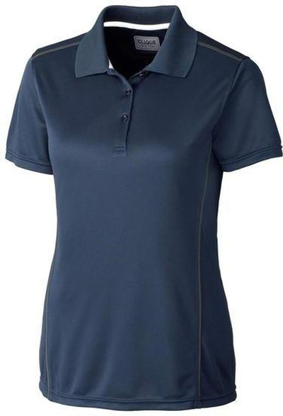 Dark Navy Clique Ladies Ice Sport Polo