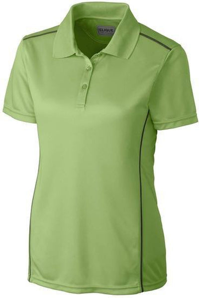 Putting Green Clique Ladies Ice Sport Polo