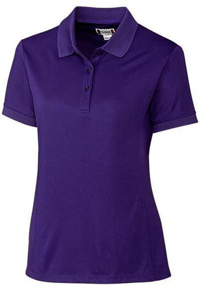 Clique Ladies Oslo Pique Polo-XS-College Purple-Thread Logic