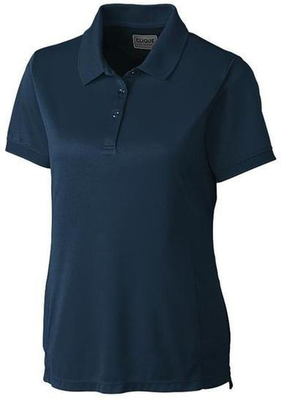 Clique Ladies Oslo Pique Polo-XS-Dark Navy-Thread Logic