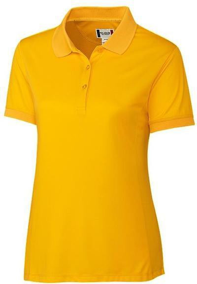 Clique Ladies Oslo Pique Polo-XS-Lemon-Thread Logic