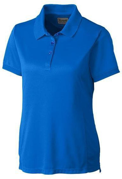 Clique Ladies Oslo Pique Polo-XS-Royal-Thread Logic