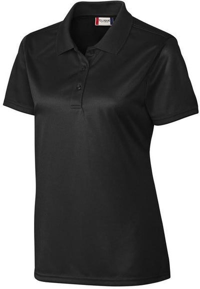 Clique Ladies Malmo Snag Proof Polo-XS-Black-Thread Logic