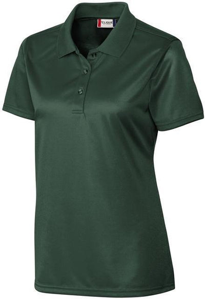 Bottle Green Clique Ladies Malmo Snag Proof Polo