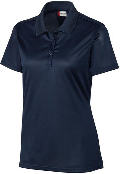 Clique Ladies Malmo Snag Proof Polo-XS-Navy-Thread Logic