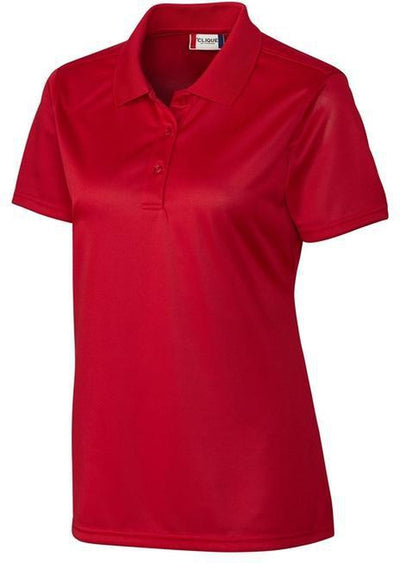 Clique Ladies Malmo Snag Proof Polo-XS-Red-Thread Logic