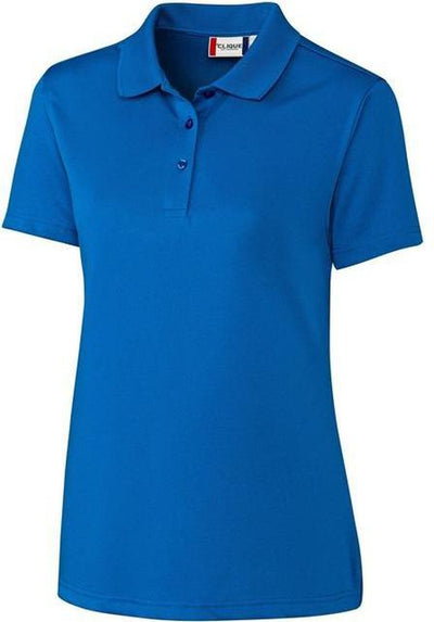 Clique Ladies Malmo Snag Proof Polo-XS-Royal-Thread Logic
