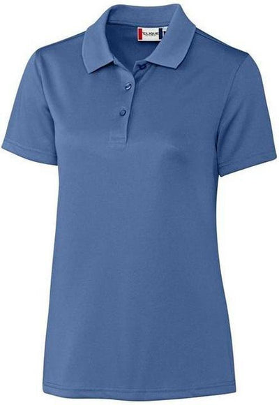 Clique Ladies Malmo Snag Proof Polo-XS-Sea Blue-Thread Logic