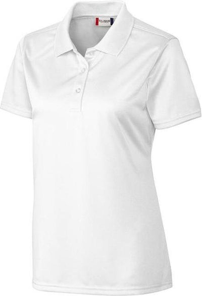 Clique Ladies Malmo Snag Proof Polo-XS-White-Thread Logic
