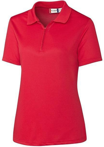 Red Clique Ladies Malmo Snag Proof Zip Polo