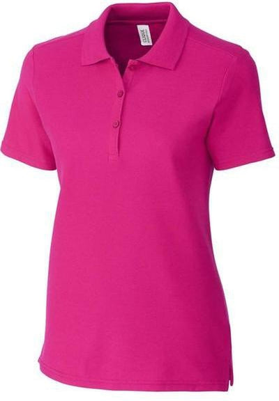 Clique Ladies Addison Polo-XS-Ribbon Pink-Thread Logic