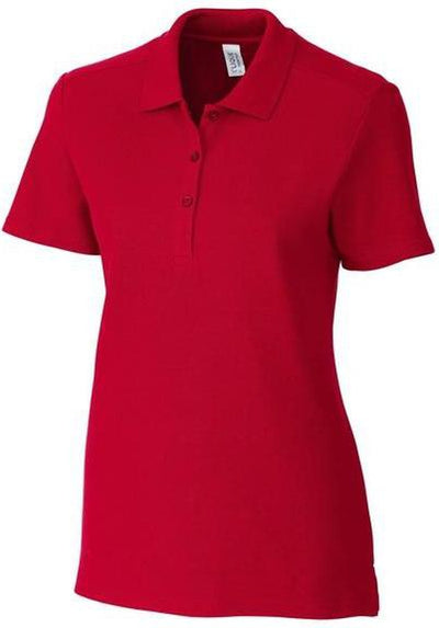Clique Ladies Addison Polo-XS-Red-Thread Logic