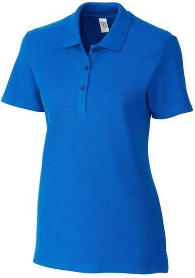 Clique Ladies Addison Polo-XS-Royal Blue-Thread Logic