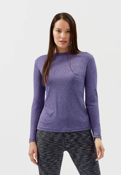 Clique Ladies Charge Active Long SleeveTee-Thread Logic no-logo