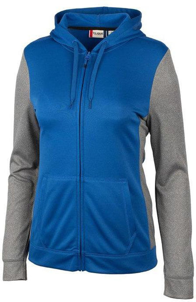 Clique Ladies Helsa Sport Colorblock Full Zip
