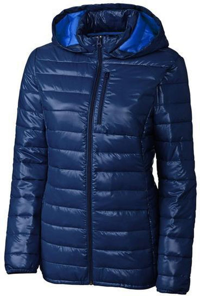Clique Ladies Stora Puffy Jacket-S-Navy/Royal Blue-Thread Logic