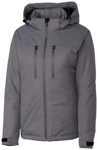 Clique Ladies Kingsland Jacket-S-Grey-Thread Logic
