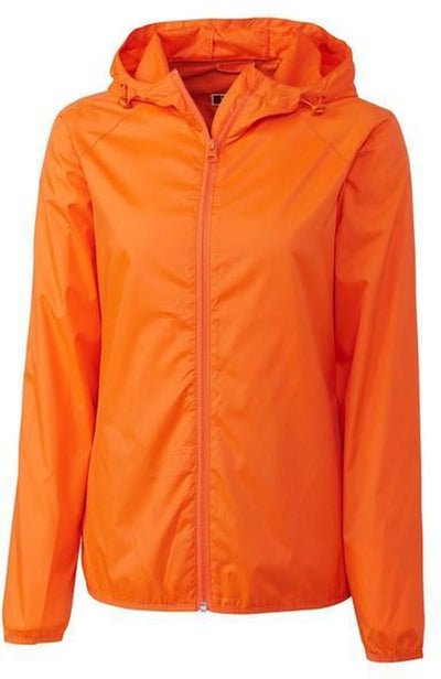 Clique Ladies Reliance Packable Jacket-S-Orange-Thread Logic