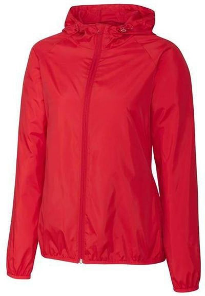 Clique Ladies Reliance Packable Jacket-S-Red-Thread Logic