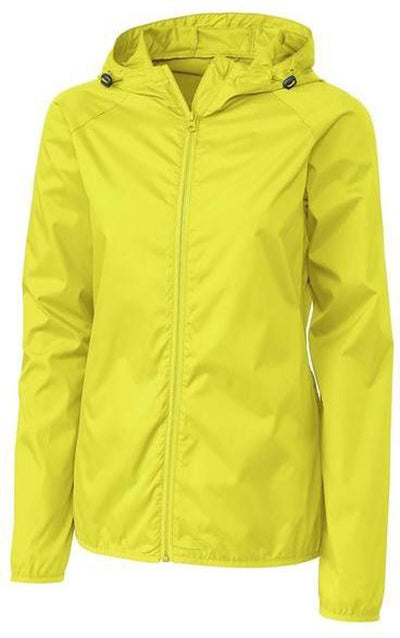 Clique Ladies Reliance Packable Jacket-S-Visibility Green-Thread Logic