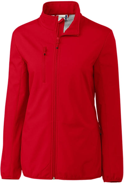 Clique Ladies Trail Softshell-XS-Red-Thread Logic