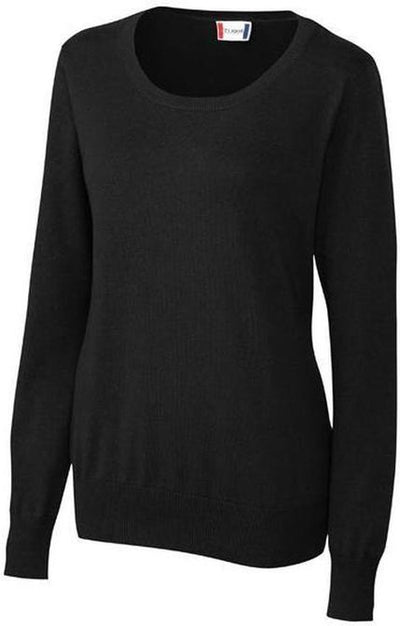 Clique Ladies Imatra Scoop Neck Sweater-XS-Black-Thread Logic no-logo