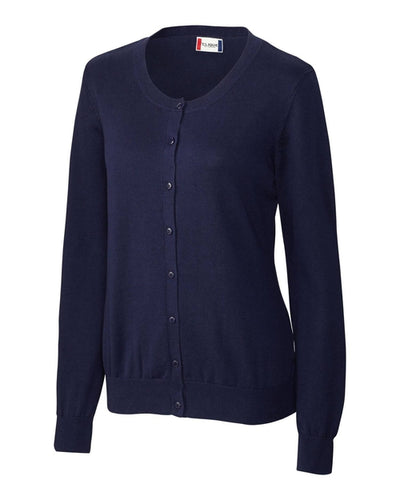 Clique Ladies Imatra Cardigan Sweater-XS-Navy-Thread Logic