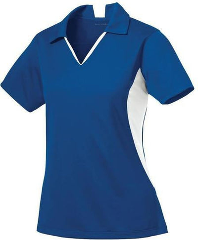 Sport Tek-Ladies Side Blocked Micropique Polo-XS-Royal-Thread Logic