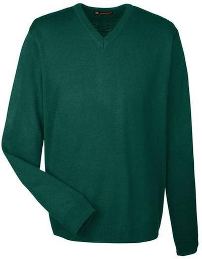Harriton-Pilbloc V-Neck Sweater-S-Hunter-Thread Logic