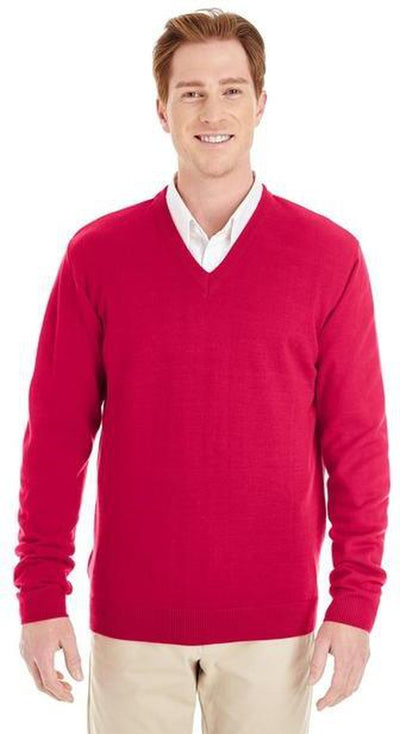 Harriton-Pilbloc V-Neck Sweater-Thread Logic