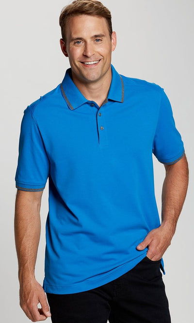 Cutter&Buck Advantage Tipped Polo-Thread Logic no-logo