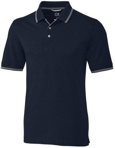 Cutter&Buck Advantage Tipped Polo-S-Liberty Navy-Thread Logic
