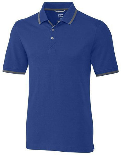 Cutter&Buck Advantage Tipped Polo-S-Tour Blue-Thread Logic