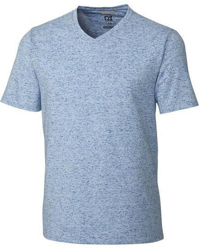 Cutter&Buck Advantage Space Dye Tee-S-Tour Blue-Thread Logic