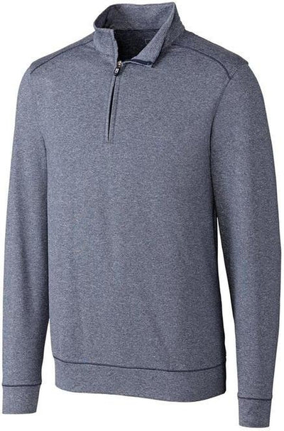Cutter&Buck Shoreline Half Zip-S-Liberty Navy-Thread Logic