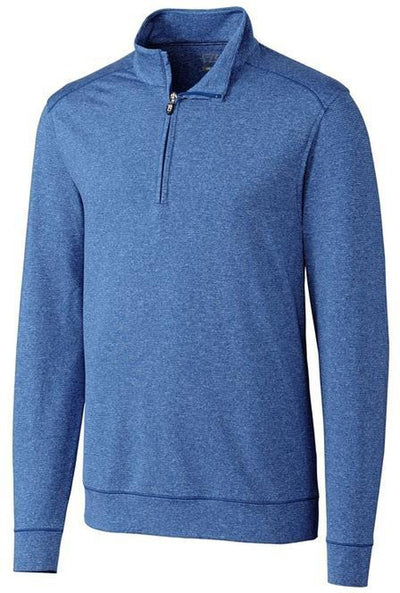 Cutter&Buck Shoreline Half Zip-S-Tour Blue-Thread Logic