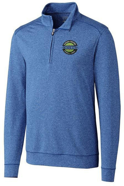 Cutter&Buck Shoreline Half Zip-Thread Logic no-logo