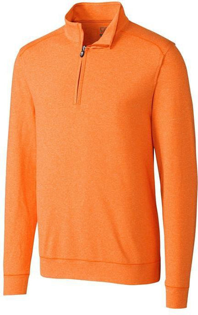 Cutter&Buck Shoreline Half Zip-S-College Orange-Thread Logic