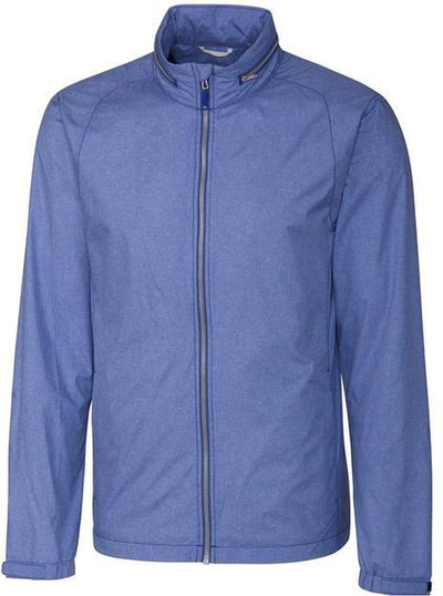 Cutter&Buck L/S Panoramic Packable Jacket-S-Tour Blue-Thread Logic