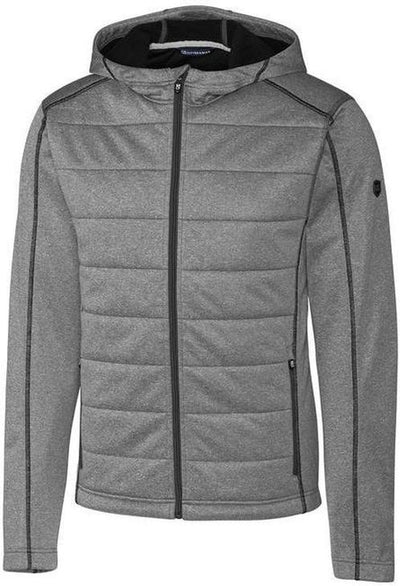 Cutter&Buck Altitude Quilted Jacket-S-Charcoal-Thread Logic
