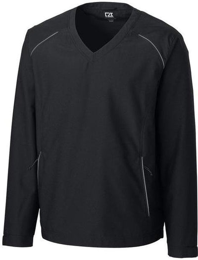 Cutter&Buck WeatherTec V-neck Jacket-S-Black-Thread Logic