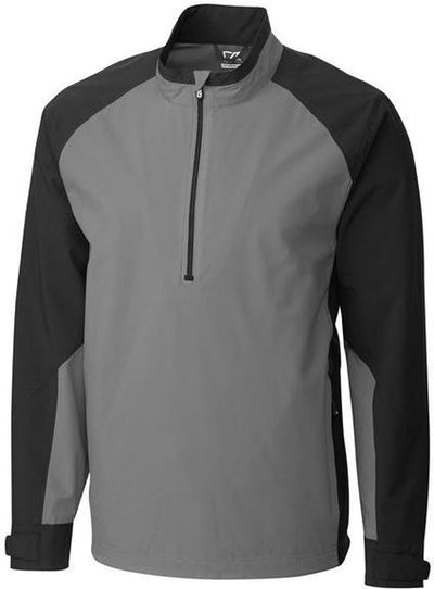 Cutter&Buck WeatherTec Summit Half Zip-S-Gravel-Thread Logic