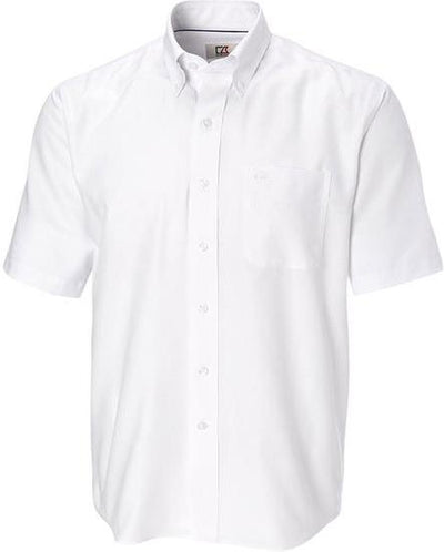 Cutter&Buck S/S Epic Easy Care Nailshead-S-White-Thread Logic