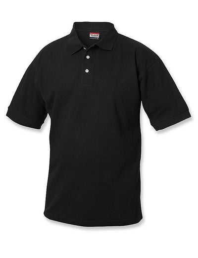 Clique Lincoln Pique Polo-S-Black-Thread Logic