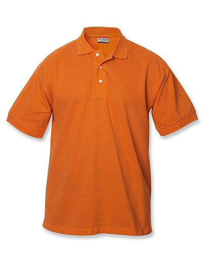Clique Lincoln Pique Polo-S-Orange-Thread Logic no-logo