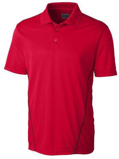Clique Ice Sport Polo-S-Red-Thread Logic