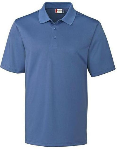 Clique Malmo Snagproof Polo-S-Sea Blue-Thread Logic
